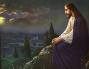Jesus weeps over jerusalem